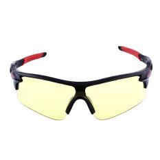 OEM kolam olahraga sepeda kacamata kacamata matahari UV400 lensa keselamatan berkendara