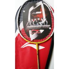 Raket Badminton Lining GOLD N55 AirStream POWER 2017 LEVEL ADVANCE PROFESIONAL