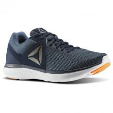 Reebok Astrofoam Sepatu Lari - Collegiate Navy-Brave Blue-White-Wild Orange