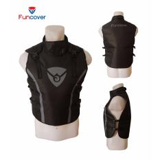 Rompi Premium Vest Funcover Protector Pelindung Dada Leher Motor V3