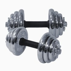 ROX DR-14 SS Adjustable Dumbbell Stainless Set