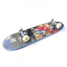Silverfox Skateboard Maple (24X6 In) Born Toride LY-2406AA-D