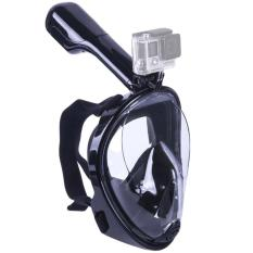Snorkeling Mask Full Face Seaview 180° Anti-fog GoPro Compatible Snorkel Mask for Adults and Youth L - intl