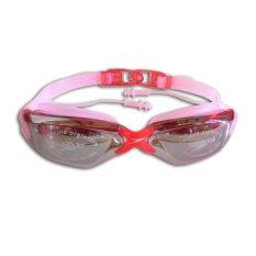 Speedo Kacamata Renang LX5000 - Merah