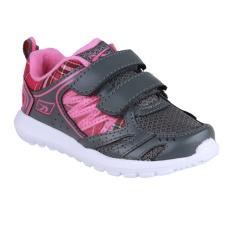 Spotec SPC 2.5 Jr Sepatu Lari Anak-anak - Abu Tua/Merah Jambu