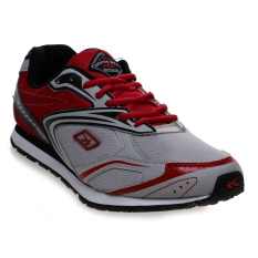 Spotec Unlimited Sepatu Lari - Grey/Red