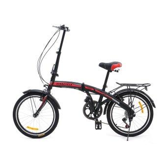 Twist Shimano Y3110 Hi Ten Folding 7 SP Sepeda Lipat 20