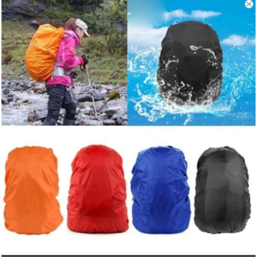 Unique 25-40L Highly Waterproof Polyester Bag Raincoat Outdoor Hiking Sports Backpack Rain Cover - Raincover Untuk Tas Laptop