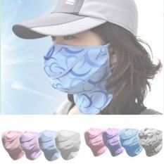 Unisex Anti-UV Full Protection Mask Adjustable Anti-Dust&Storm Mask Thick Windproof Mouth-muffle Face Pollution masks PM2.5 Anti Haze 8 Colors