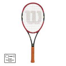 Wilson Raket Tenis Pro Staff RF 97S Unstrung Grip 2 Red/Black