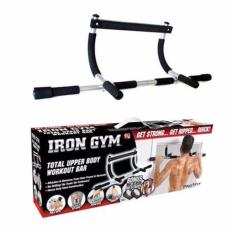 Workout Bar / Pull up bar / Alat Fitness Profit Iron Gym