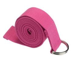 Yoga Stretch Adjustable Strap (Pink) (Intl)