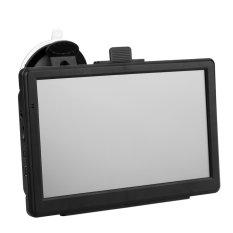 "7"" HD Touch Screen Portable Car GPS Navigation 128MB RAM 4GB FM Video Play Car Navigator With Bluetooth + Free Map (Intl)"