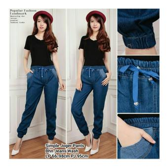 ... 168 Collection Celana Cutbray Jeans Pant Navy Daftar Update Source 168 Collection Celana Classic Joger Jeans