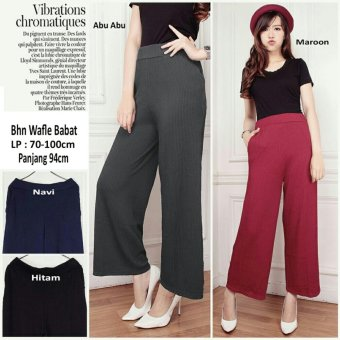 ... 168 Collection Celana Diarella Kulot Long Pant Abu