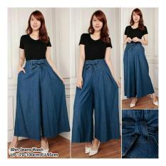 ... 168 Collection Celana Kulot Valent Jeans Pant Biru