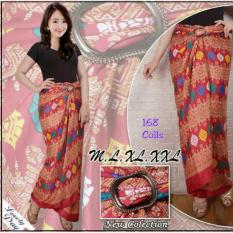 168 Collection Rok Maxi Lilit Dinda Batik Merah .