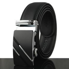2016 Business Real Genuine Leather Belt Luxury Belt For Men Automatic Designer Mens Belt Waistband Black 110-130cm, KB-29 - Intl