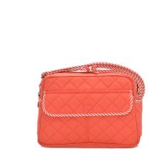 2016 Canvas Crossbody Bags Women Messenger Bags Floral Printing Small Shoulder Bag Ladies Summer Beach Bags Waterproof Handbags (Red) - INTL