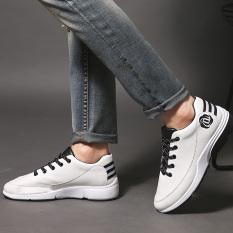2016 Fashion Men Casual Shoes High Quality PU Men Loafers Shoes Lace-up Men Jogging Shoes