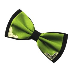2016 Metal Bow Tie Men Butterfly Cravat Bowtie Male Solid Color Wedding Commercial Bow Ties For Men Grass Green