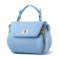 2016 New Handbag Bag Street Fashion Trend Of Korean Women's Singles Blue