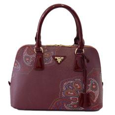 2016 New Women Bag Printing Shell Ladies Shoulder Bags Women Handbags Brown
