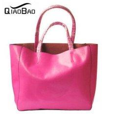 2017 Designer Leather Handbag Fashion Shoulder Bag Cabas Big Bags Tote Shopping Bag Composite Bag - Intl