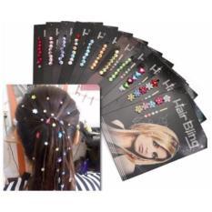 21 Truly Shop Aksesoris Rambut Hair Bling - Hiasan Rambut - Motif dan Warna Random