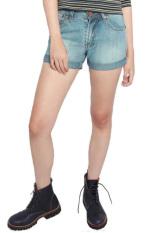2nd RED 124229 Jeans FS Wisker Spray - Biru ... Source · 2Nd RED Hotpants Denim Light Blue-263201