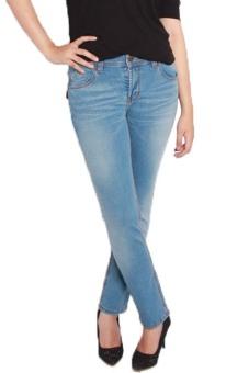 2ndRED 232289 Jeans Slim Fit Ladies Blue Blitz Wisker