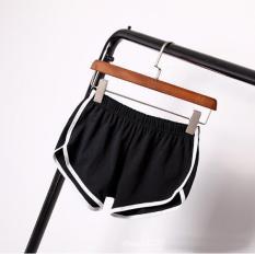 2NE1 Home Yoga Beach Pants Fitness Casual Women Shorts Black - Intl