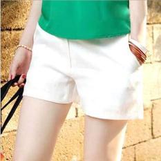 2NE1 Women's Casual Shorts White - Intl