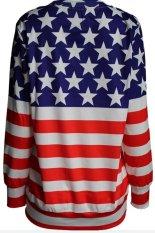 3D Digital Printing Fleece American Flag Loose Version Of Fleece (Intl)