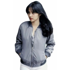 3KFashion - Basic Womens Bomber - Abu