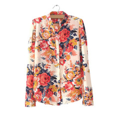 women's short sleeved New style base shirt T-shirt (Merah.