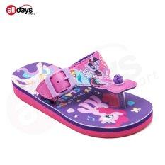Ando Sandal Jepit Anak Perempuan Little Pony 803 - Purple
