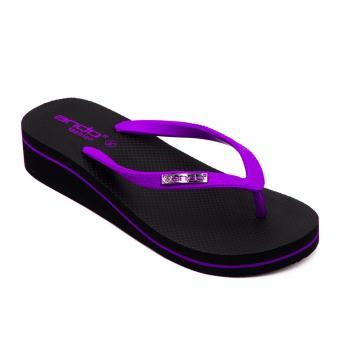 Ando Sandal Jepit HAK Nice Queen 2 Ladies - Ungu