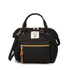 Anello Japan 3 Ways Mini Hand bag & Shoulder Bag - Black