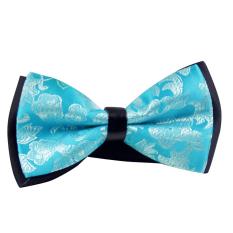 AOXINDA Tied Bow Ties Necktie Bowtie Tie Knot Mens Adjustable Bowtie Classic Paisley Jacquard Neckwear Tuxedo Wedding Prom Party Bow Tie - Blue - Intl