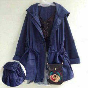 Aquinn Labelle - Long Sleeve Jaket Parka (Blue)