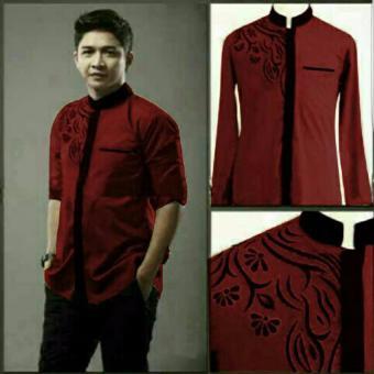 Aquinn Labelle Long Sleeve Shirt Koko Pasha (Maroon)
