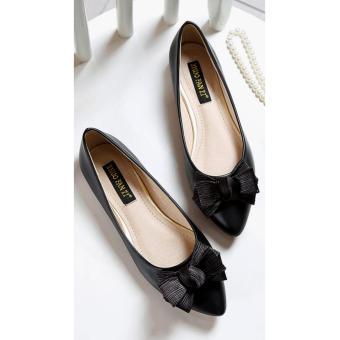 Arlaine Mirage Flat Shoes [Black]