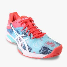 Asics Gel-Solution Speed 3 L.E Paris Men's Tennis Shoes - Multi Warna