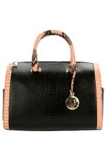 Astar Women Synthetic Leather Handbag Pillow Bag Pendant Casual Party Business Shoulder Bag (Black) - Intl