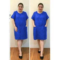 Ayako Fashion Dress Wanita Kaka Jumbo - (Benhur)