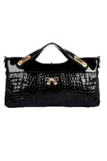 Azone Women's Purse Clutch Evening Bag Handbag (Black)