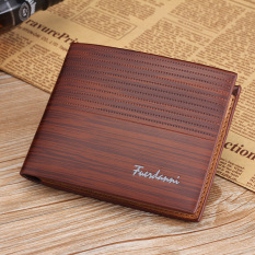 Baellerry Genuine PU Leather Vintage Design Purse Men Brand Card Holder Mens Wallet Leather Carteira Masculina