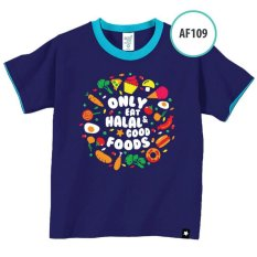 Baju Kaos Anak Muslim AF109 Afra Kids