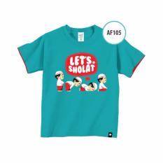 Baju Kaos Anak Muslim Afrakids AF105XS